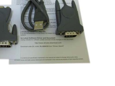 adapter espada usb 1com u1r232-pl2