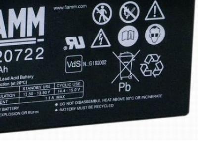ups battery fiamm fg20722 12v 7-2ah