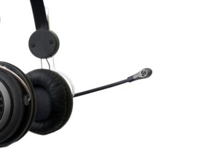 headphone sven gd-330mv+microphone silver-black