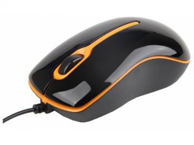 ms gembird mus-004-o ps black-orange