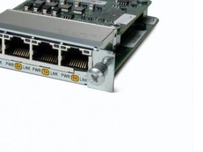 lan module cisco hwic-4esw