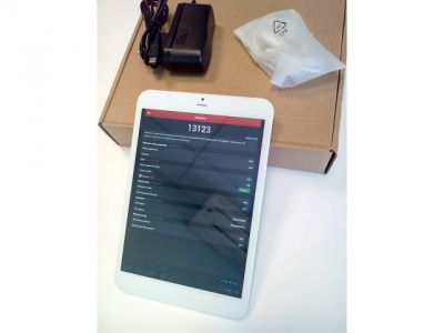 discount tablet china mediapad white-silver used