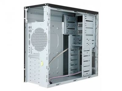 case inwin ear002 ip-s450hq7 black-silver