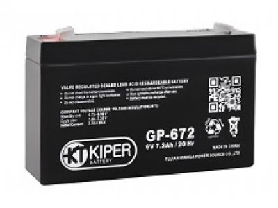 ups battery kiper gp-672-f1 6v 7-2ah