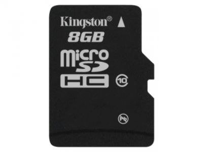 flash microsdhc 8g class10 kingston sdc10-8gbsp