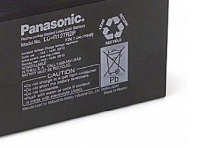 ups battery panasonic lc-r127r2pg1 12v 7-2ah