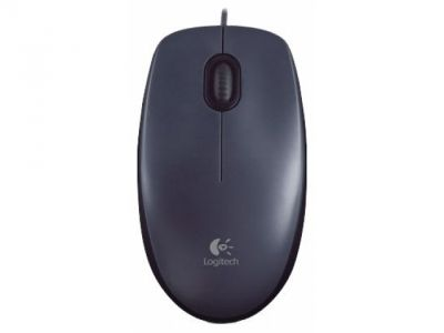ms logitech m90 dark-grey usb 910-001794
