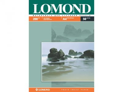 paper lomond a4 200g 50l mat two-sides
