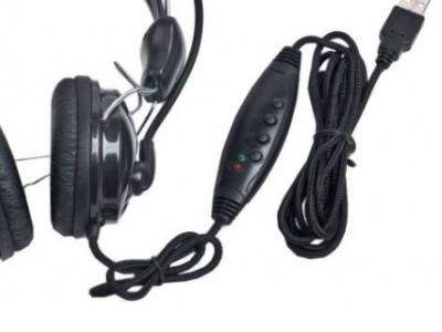 headphone gembird mhs-200-usb+microphone