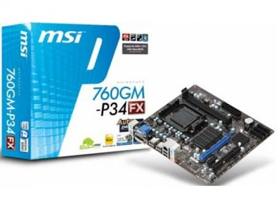 mb msi 760gm-p34-fx