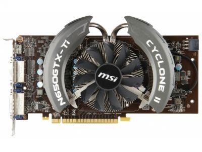 vga msi pci-e n650-ti-pe-1gd5-oc 1024ddr5 128bit box