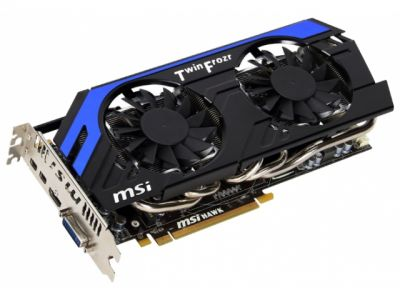 vga msi pci-e r7870-hawk 2048ddr5 256bit box