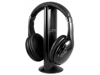 headphone media-tech mt3525 sirius wireless+microphone