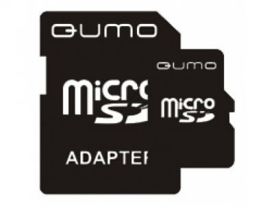 flash microsd 2g qumo sd-adapter