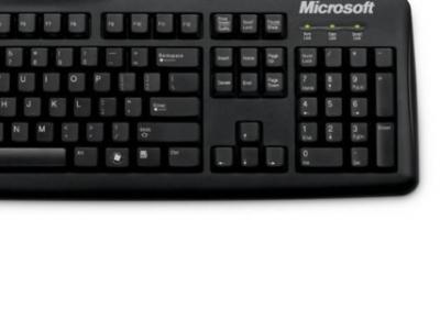 kbd microsoft wired keyboard 200 usb black jwd-00002