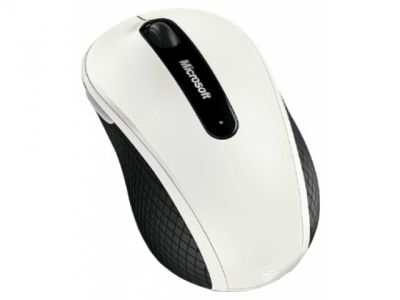 ms microsoft wireless mobile 4000 usb white d5d-00012