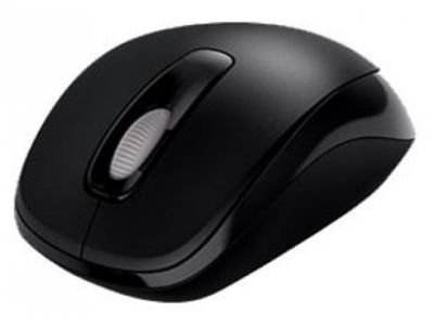 ms microsoft wireless mouse 1000 black 2tf-00004