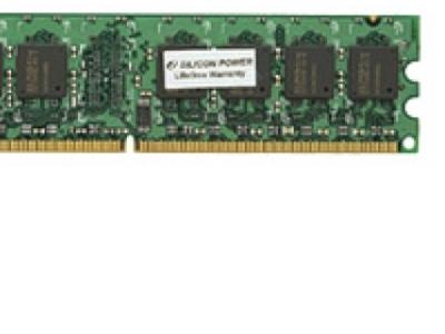 ram ddr2 1g 800 silicon power sp001gblru800s02