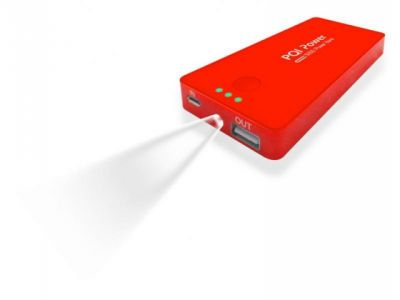 smartaccs charger pqi i-power 5000c red