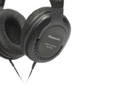 headphone panasonic rp-ht265e-k