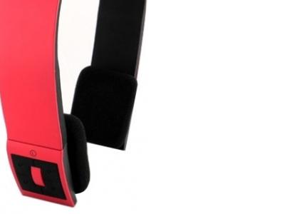 headphone qumo concord red+microphone