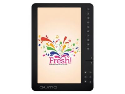 handpc qumo e-book fresh 4gb black