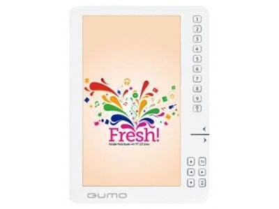handpc qumo e-book fresh 4gb white