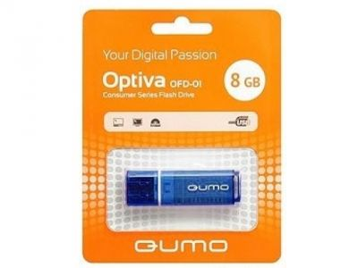 usbdisk qumo optiva-01 8g blue