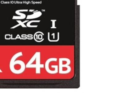 flash sdxc 64g class10 uhs-1 qumo qm64gsdxc10