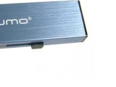usbdisk qumo aluminium 8g