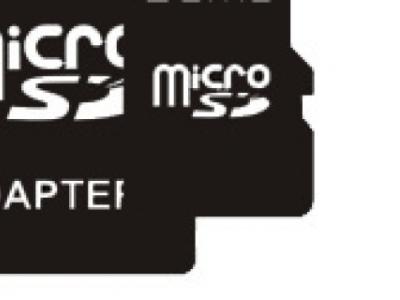 flash microsdhc 4g class4 qumo yin-yan bez adaptera