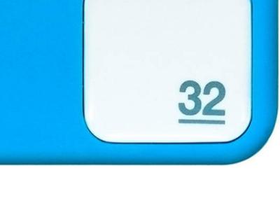 usbdisk qumo silicone 32g blue
