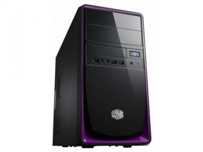 case coolermaster rc-344-pkn2 elite 344 black-purple bez bloka