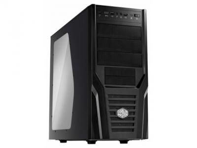 case coolermaster rc-431k-kwn1 elite 431 black bez bloka