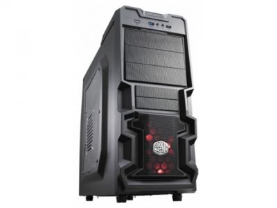 case coolermaster rc-k380-kwn1 k380 black bez bloka