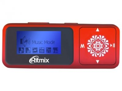 av flash-player ritmix rf-3350 red 4gb