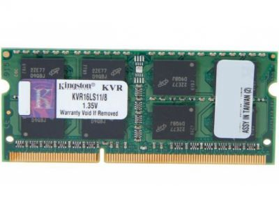 nbram ddr3 8g 1600 kingston kvr16ls11-8