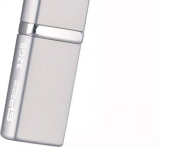 usbdisk silicon power luxmini 710 32gb silver