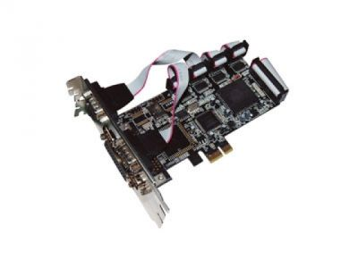 adapter stlab i461 pci-e rs232 4port+lpt 1port