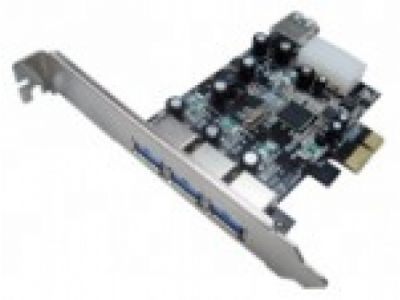 adapter stlab u610 pci-e usb3 3+1port