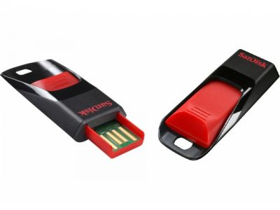 usbdisk sandisk cruzer-edge 32g black-red