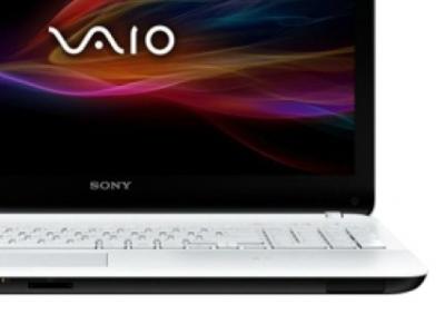 nb sony svf1521k2rw i3-3217u 4g 500 white touch