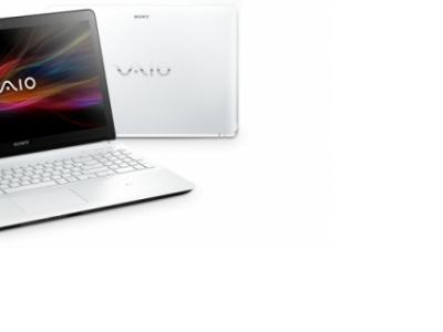 nb sony svf1521l1rw i3-3217u 4g 500 white