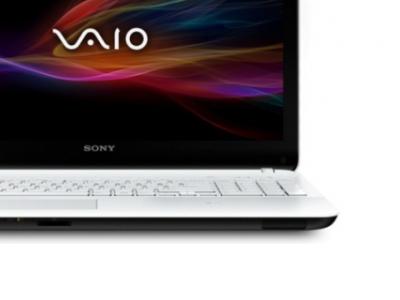 nb sony svf1521q1rw i3-3217u 4g 500 white