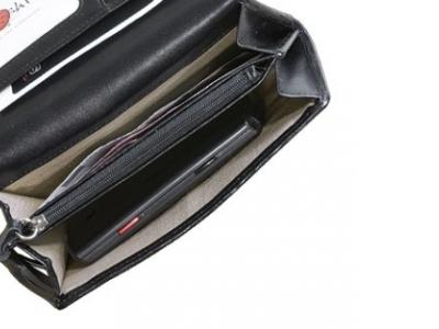 bag wallet sushi wallet-silver-dots