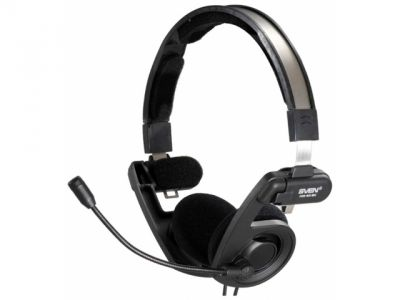 headphone sven hm-40bk+microphone