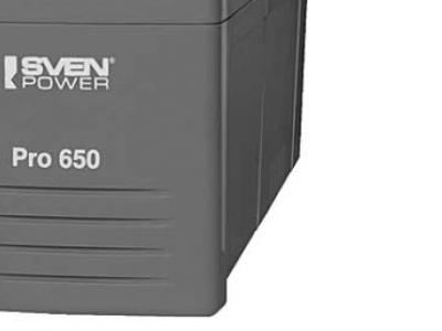 ups sven power pro+650 lcd usb