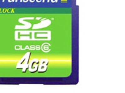 flash sdhc 4g class6 transcend ts4gsdhc6