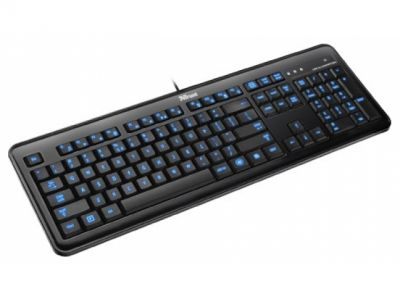 kbd trust elight led illuminated keyboard
