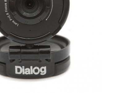 webcam dialog wc-01u black